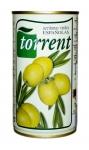 Оливки зеленые с косточкой (Испания) 350 гр. (нетто 200 гр.) ж/б