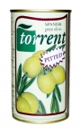 Оливки зеленые без косточки (Испания) 350 гр. (нетто 150 гр.) ж/б