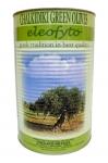 Оливки зеленые, фаршир. миндалем (Греция)(нетто 2,5 кг.) ж/б