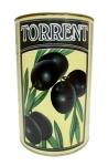 Оливки черные без косточки (Испания)(нетто 2 кг.) ж/б